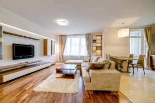 авторская 3-комнатная квартира в аренду в новом доме С-Петербург