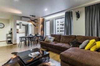 аренда светлой 2-комнатной квартиры в элитном доме Санкт-Петербург