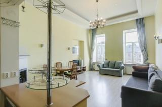 стильная 3-комнатная квартира в аренду на набережной Мойки С-Петербург