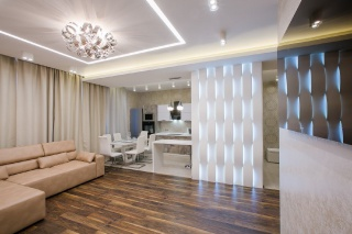 elite apartment with a terrace for rent in a modern RC Saint-Petersburg