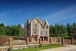 elite cottage for sale in the cottage village Lamberi Leningrad region